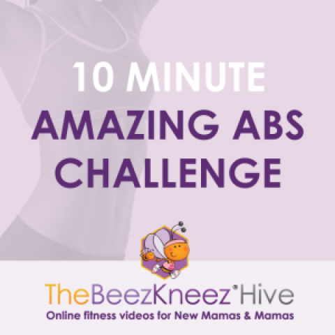 The 10 Minute Amazing Abs Challenge for Mums; the plank and crunch free!