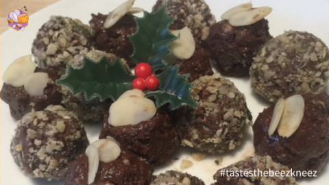 Healthy Christmas Chocolate Truffles