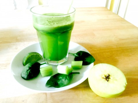 Family Friendly Fruity Green Juice