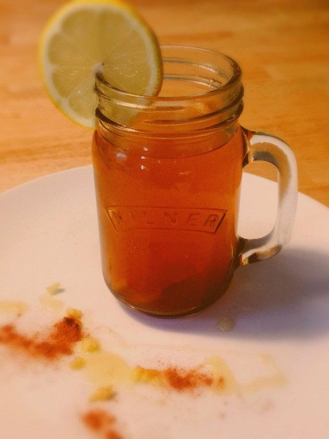 Cold Remedy! Ginger, Turmeric and Honey Drink