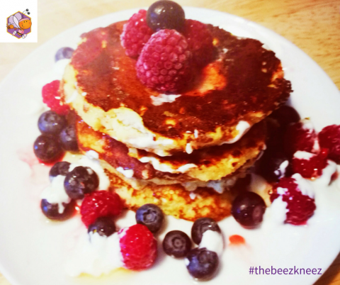 Healthy Fluffy Pancakes – Recipe for Busy Moms + Mums